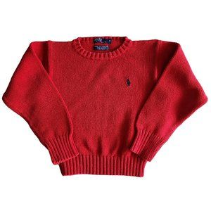 ☘️3/$30 ☘️ POLO Red Knit Sweater 4
